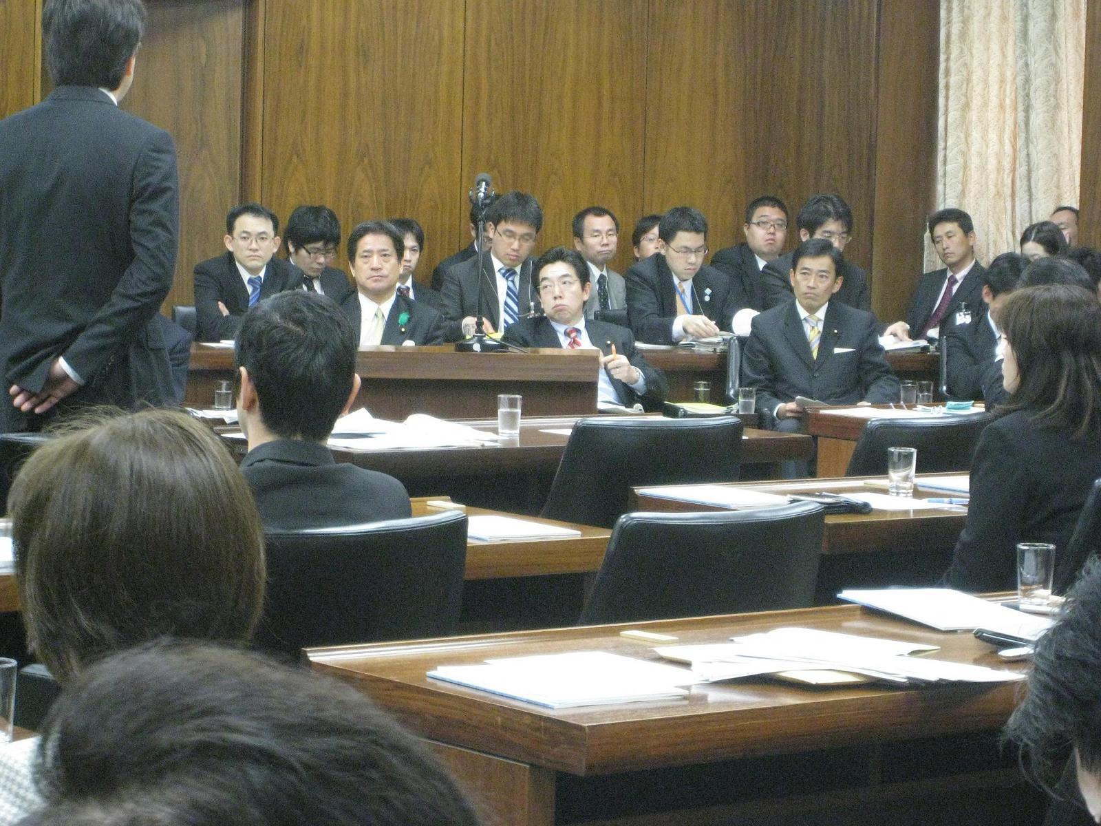 衆議院・経済産業委員会答弁