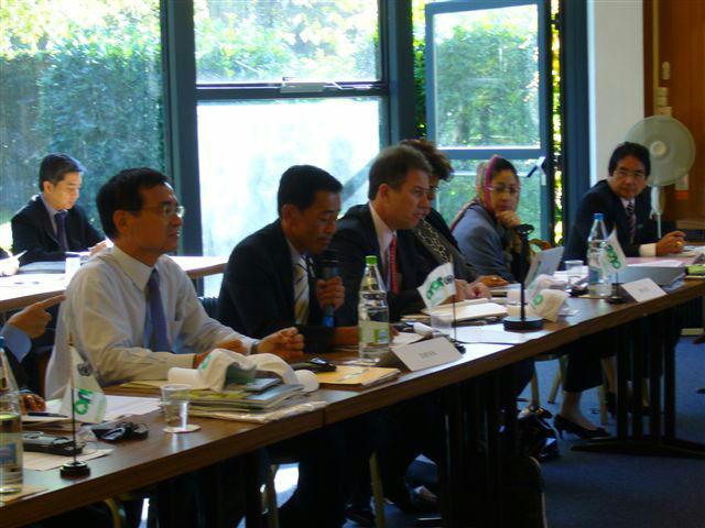 生物多様性条約締約国会議議長国閣僚級会合にてステートメント