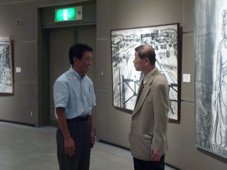 小田柿寿郎現代水墨画展