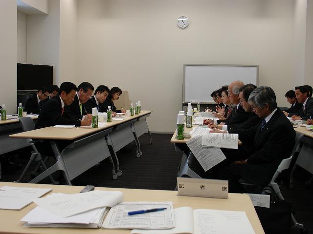 滋賀県知事との意見交換会