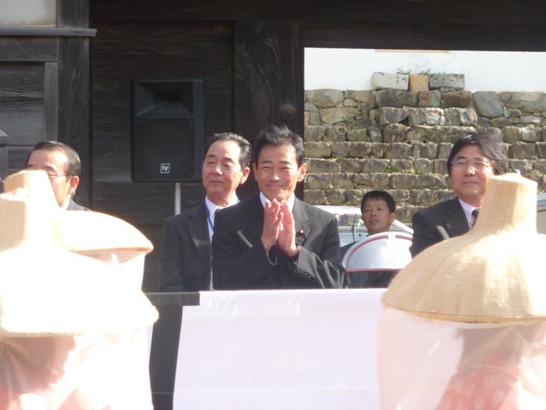 小江戸彦根の城まつりパレード見学(1)