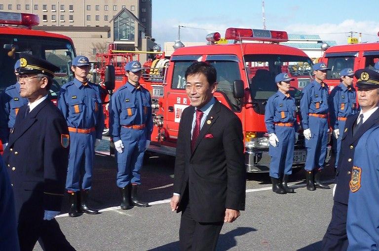 長浜市消防出初式・表彰式
