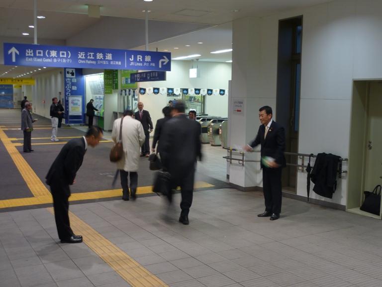 JR米原駅立ち(米原駅)