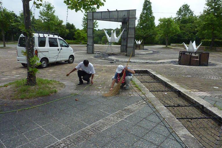 コトナリエ サマーフェスタ2011 準備作業