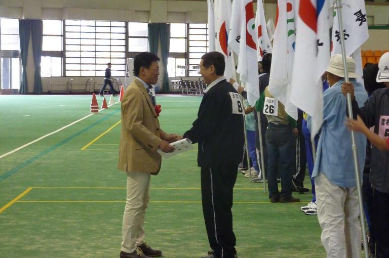 第49回滋賀県障害者スポーツ大会(フライングディスク競技)開会式