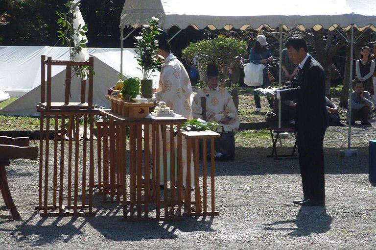 第59回小江戸彦根の城まつり「井伊直弼公 奉告祭」