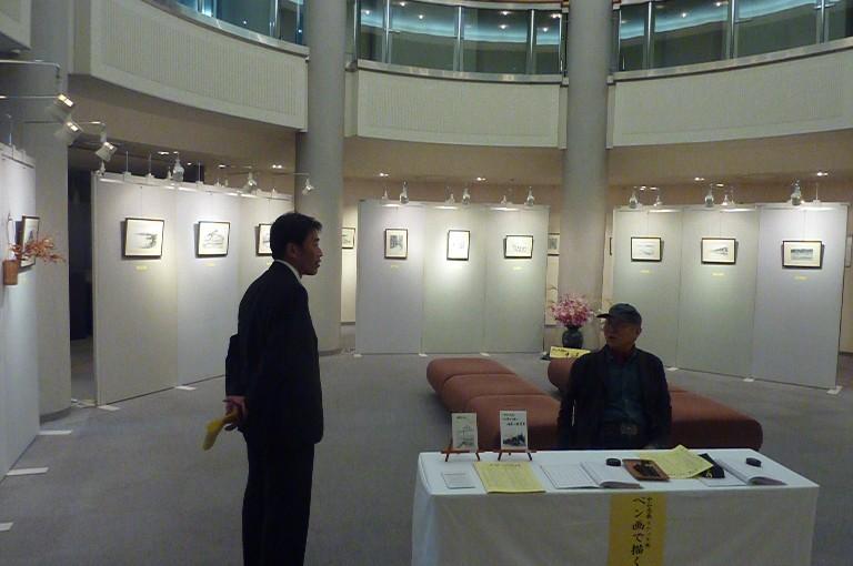 中谷忠義スケッチ展「ペン画で描く日本の原風景」