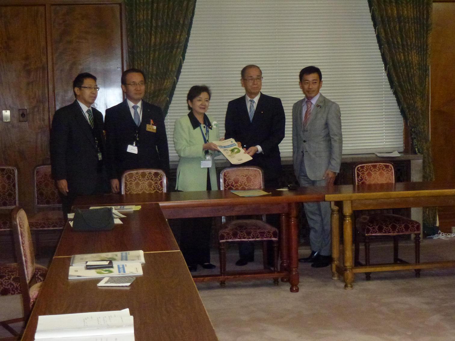 滋賀県知事、要望