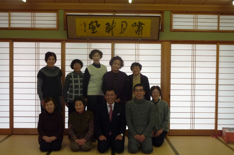 多賀町富之尾カラオケ教室訪問