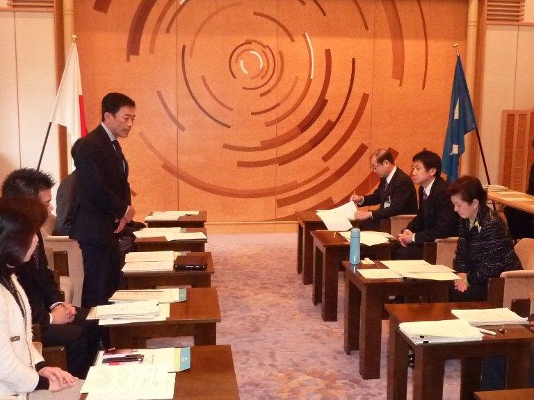 琵琶湖再生基本法に関する県との意見交換会