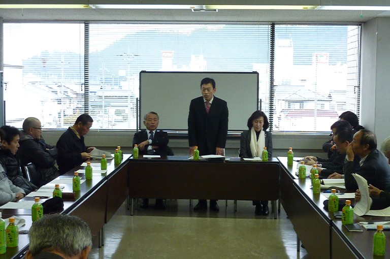 連合滋賀第2区地域協議会との意見交換会