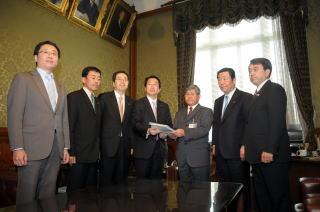 郵政改革関連法案提出