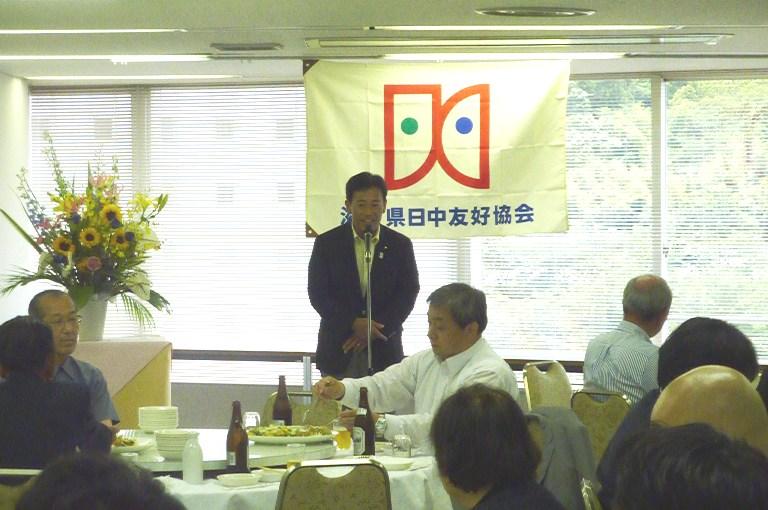 滋賀県日中友好協会「日中国交正常化40周年記念会員交流会」