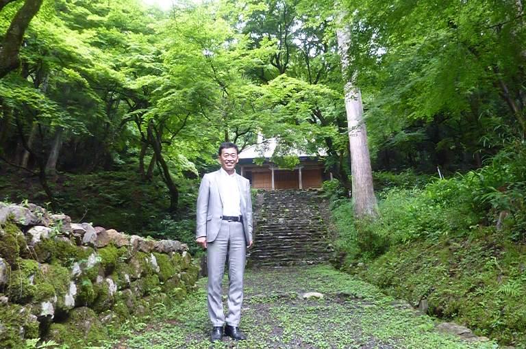 鶏足寺参拝