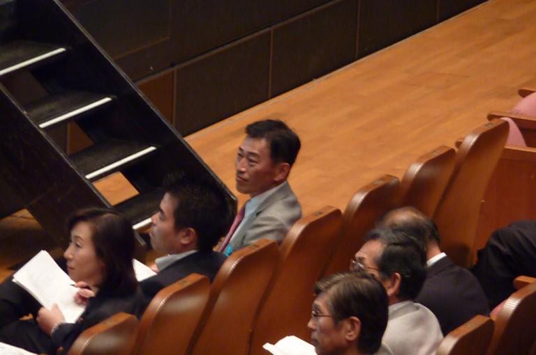 先進陸水海洋学会日本大会「開会式」