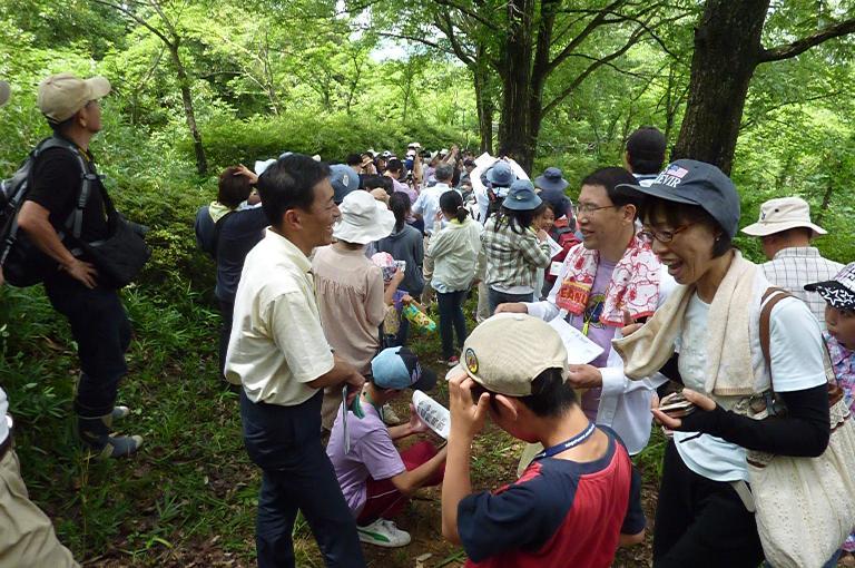 近江・オオムラサキを守る会30周年記念「オオムラサキ自然観察会」(1)