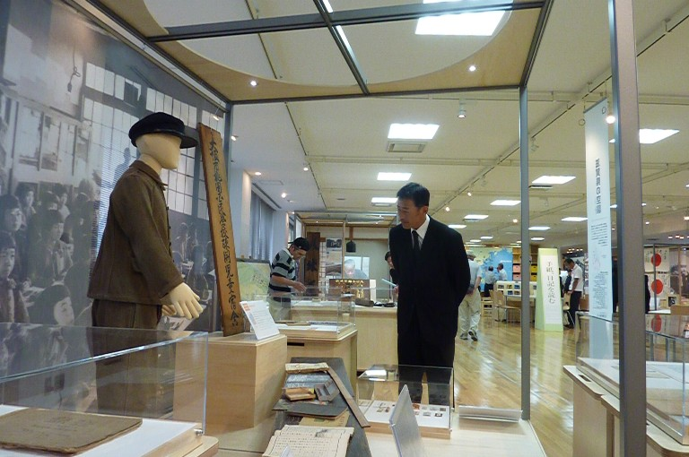 滋賀県平和祈念館見学