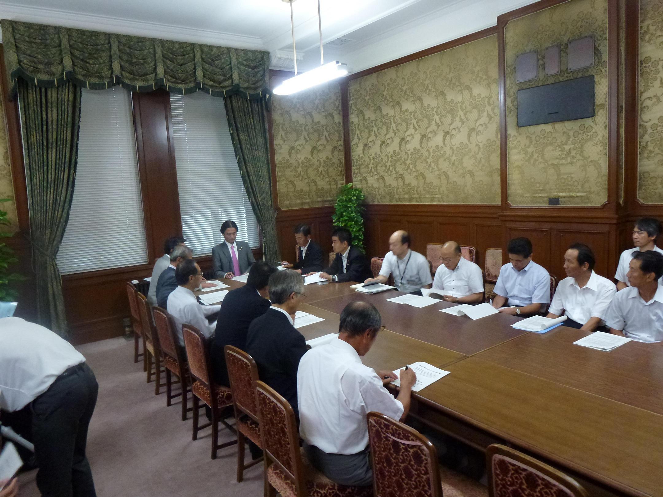 滋賀県道路協会等民主党要望