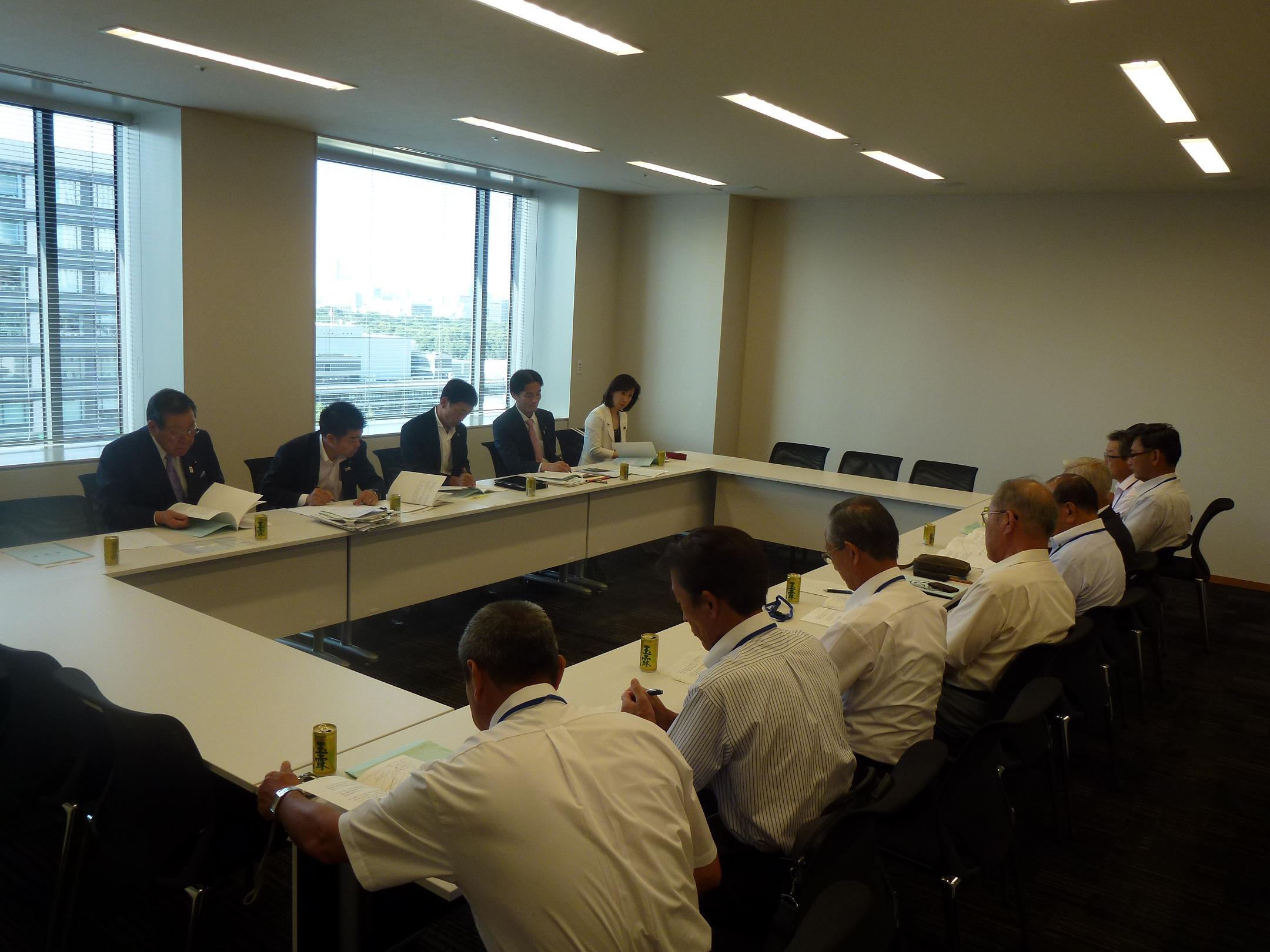 国営農業水利事業滋賀協議会との意見交換