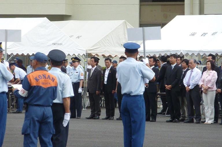 滋賀県消防ポンプ操法訓練大会