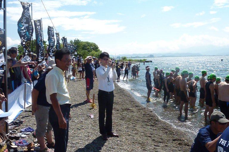 第7回琵琶湖オープンウオーター・スイムレース