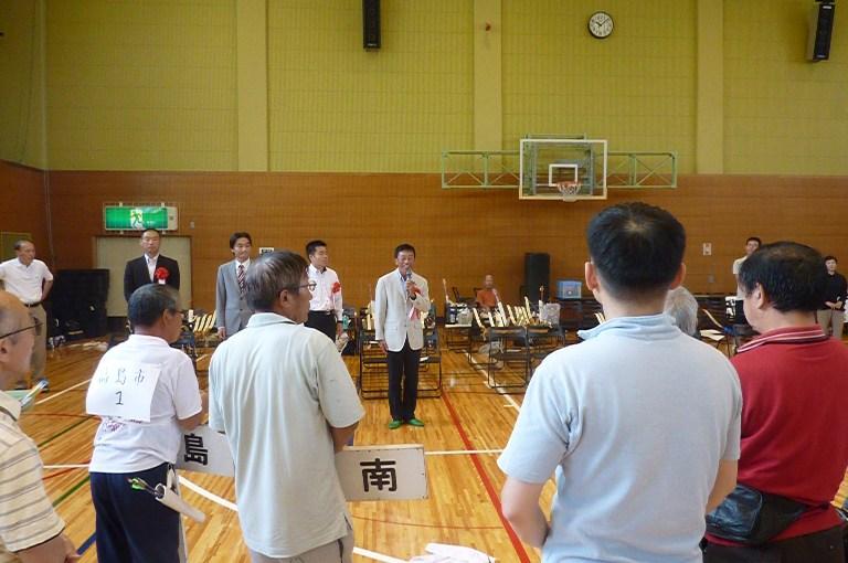 第50回滋賀県障害者スポーツ大会(アーチェリー競技)