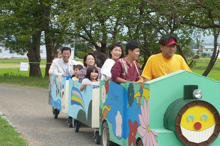 長浜ロードトレイン祭inBIWA