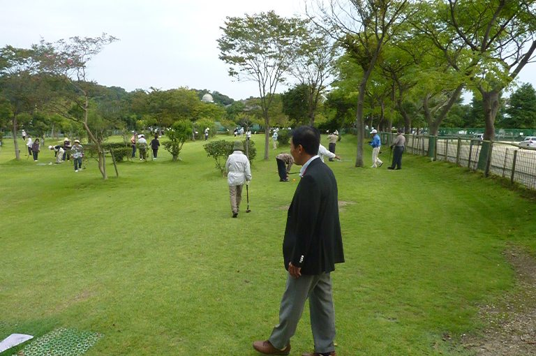 田島一成後援会グラウンドゴルフ交流大会in荒神山(2)