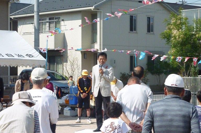 地蔵町町民運動会(1)