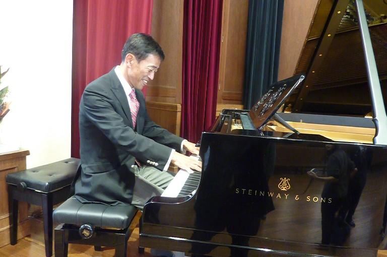 スタインウェイピアノ修繕記念コンサート