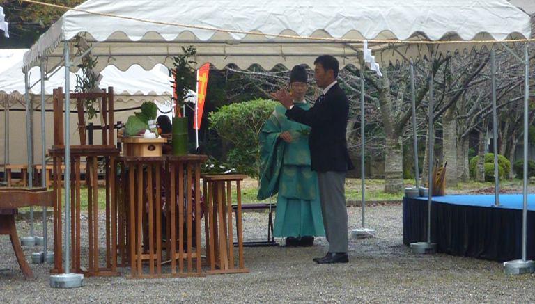 第60回小江戸彦根の城まつり「井伊直弼公 奉告祭」