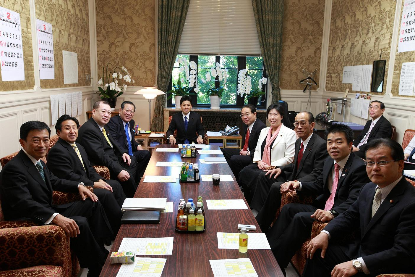 解散、朝の国対正副委員長会議