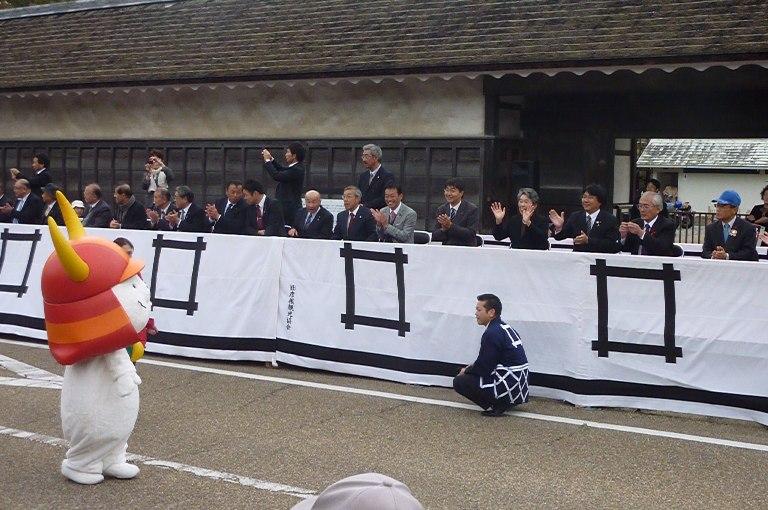 第60回小江戸彦根の城まつりパレード見学