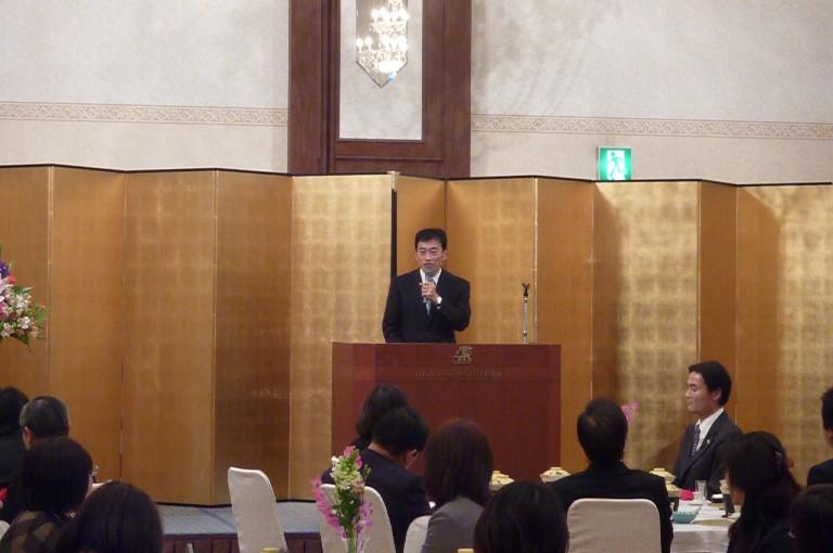 滋賀県東部地区郵便局長会通常総会懇親会