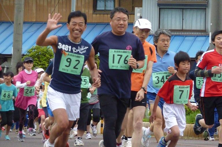 奥びわ湖健康マラソン(1)