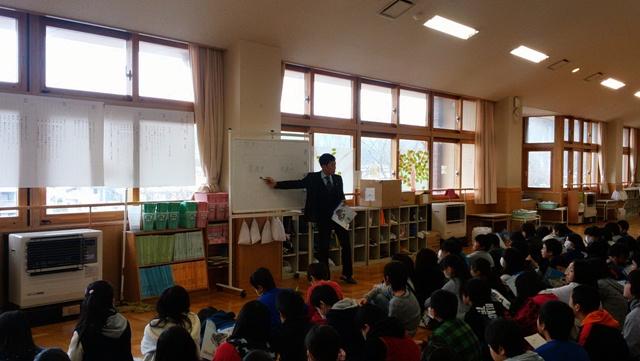 旭森小学校6年生社会科授業