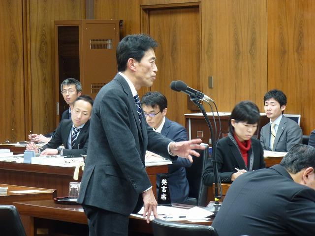 予算委員会第8分科会(国土交通省関連)