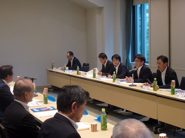 滋賀県市長会との意見交換会