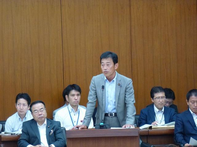 琵琶湖保全再生法案で答弁