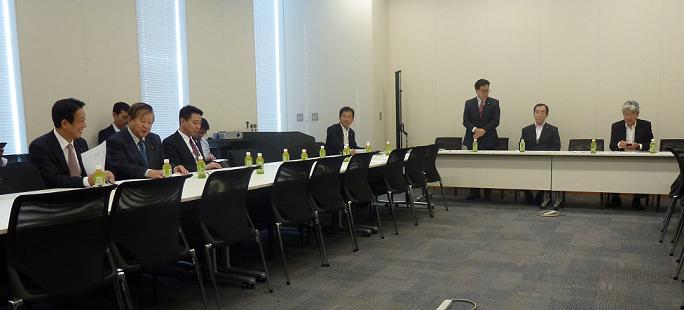 民進党「整備新幹線」を推進する議員の会
