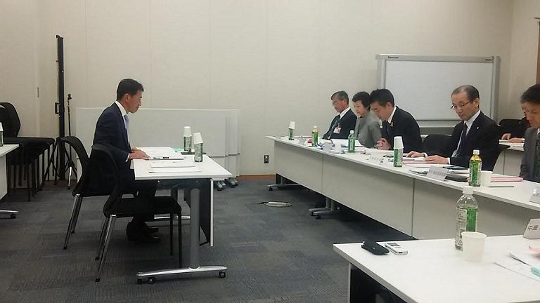 滋賀県との秋の政策提案にかかる意見交換会