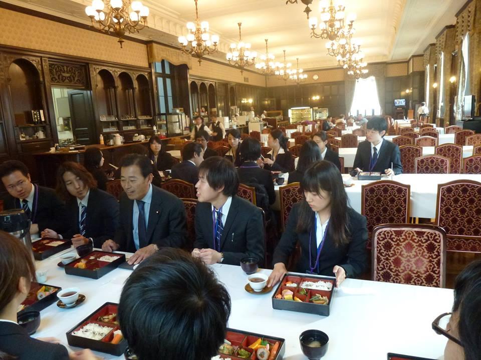 関西大学学生との面談
