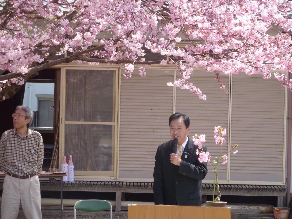 平田川の通り抜けをつくる会式典
