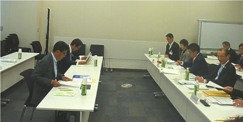 滋賀県との意見交換会