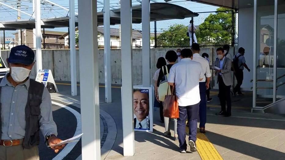 稲枝駅駅立ち